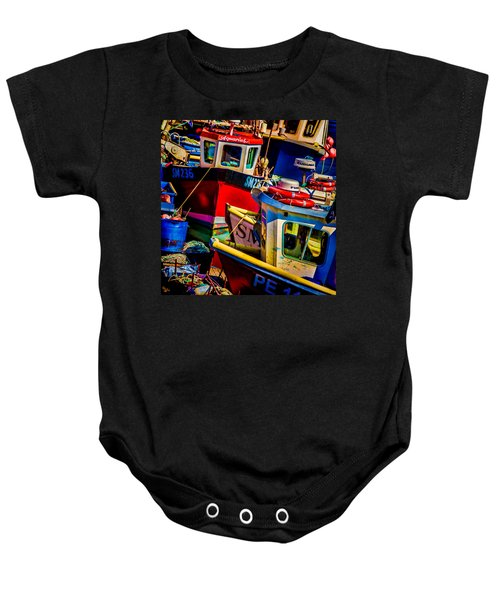 Fishing Fleet Baby Onesie