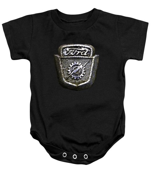 Ford Emblem Baby Onesie