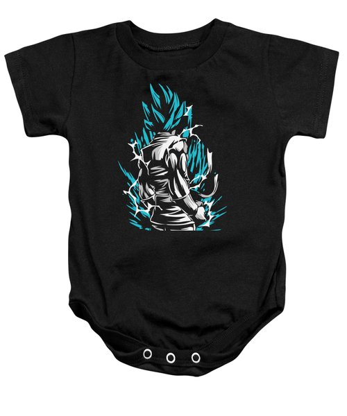 Goku Silluette - Dragon Ball Baby Onesie