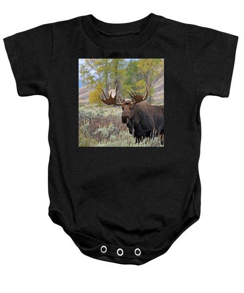 Handsome Bull Baby Onesie