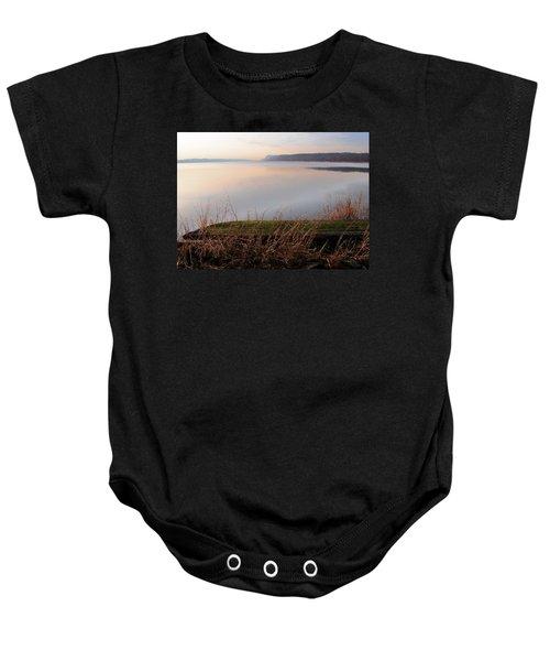 Hudson River Vista Baby Onesie