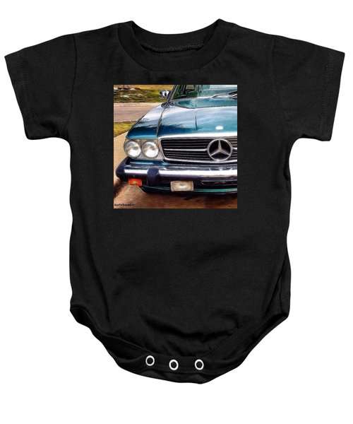 I Love #vintage #cars (and Jewelry Too) Baby Onesie