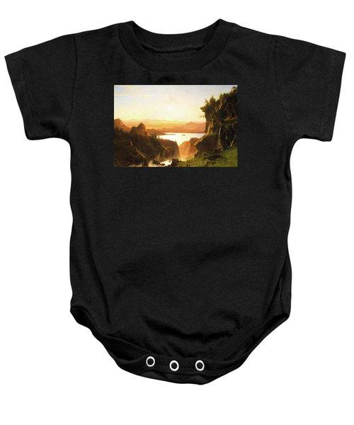 Island Lake, Wind River Range, Wyoming Baby Onesie