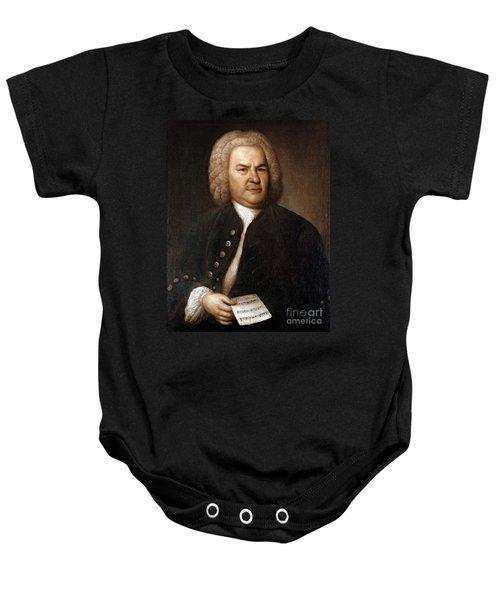 Johann Sebastian Bach, German Baroque Baby Onesie