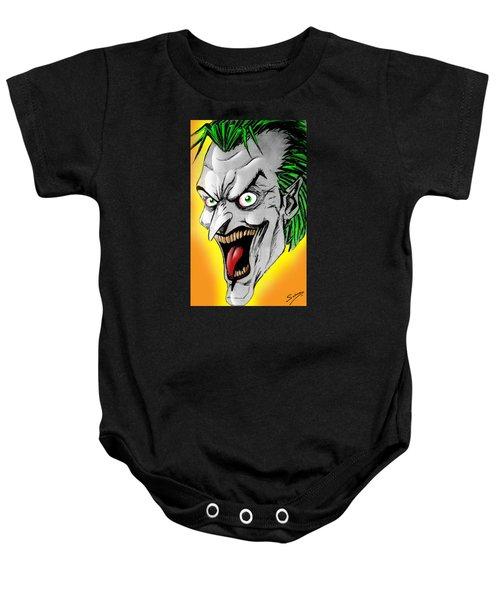 Joker Baby Onesie by Salman Ravish