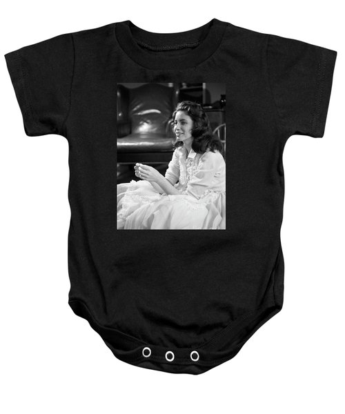 June Carter, 1956 Baby Onesie by The Harrington Collection