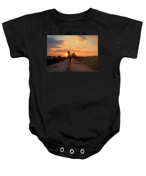 Katy Texas Sunset Baby Onesie