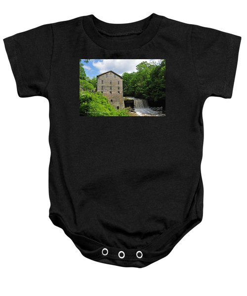 D9e-28 Lantermans Mill Photo Baby Onesie