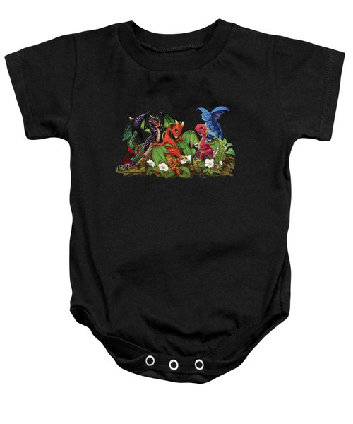 Mixed Berries Dragons T-shirt Baby Onesie