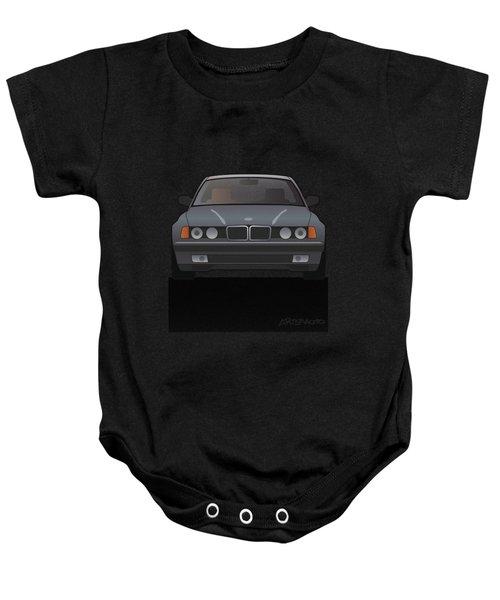 Modern Euro Icons Series Bmw E32 740i Baby Onesie