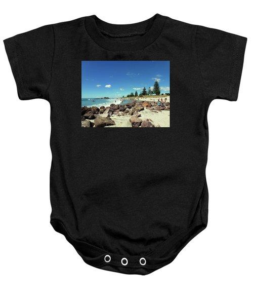 Mount Maunganui Beach 2 - Tauranga New Zealand Baby Onesie