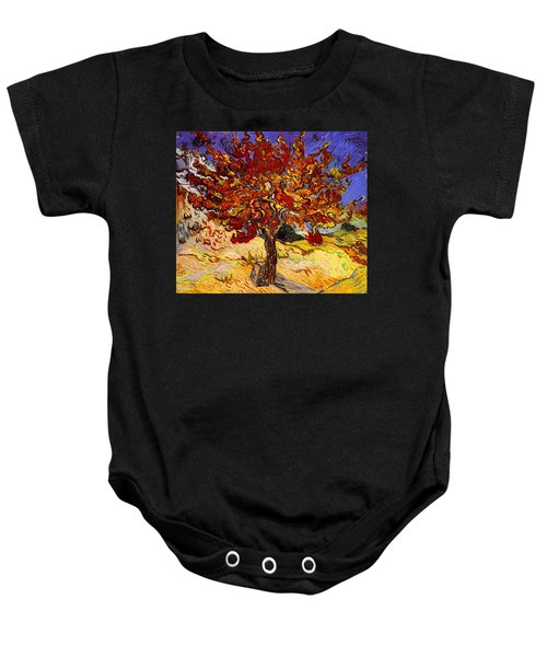Baby Onesie featuring the painting Mulberry Tree by Van Gogh