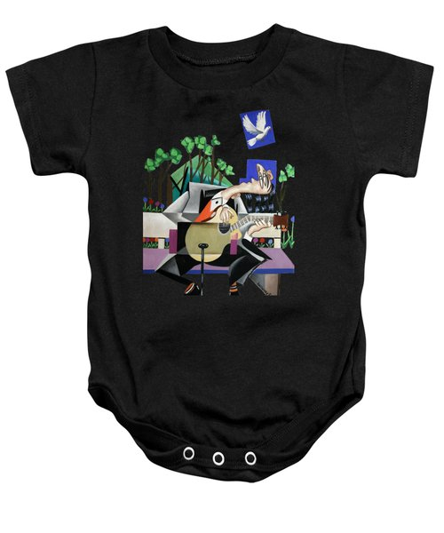 Music A Gift From The Holy Spirit Baby Onesie