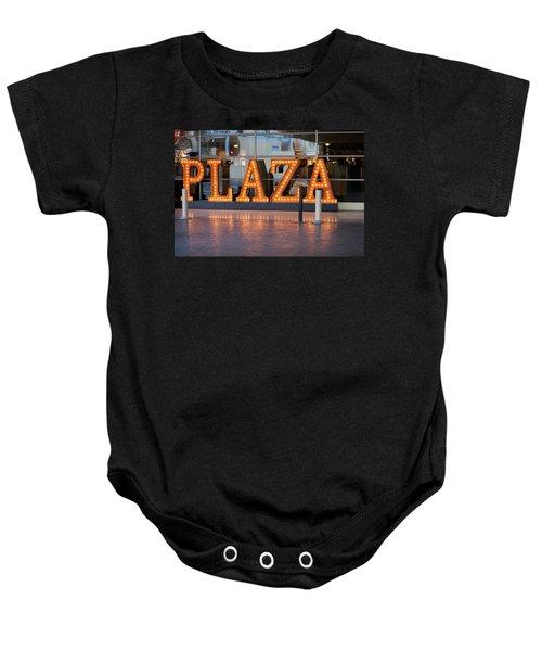 Neon Plaza Baby Onesie