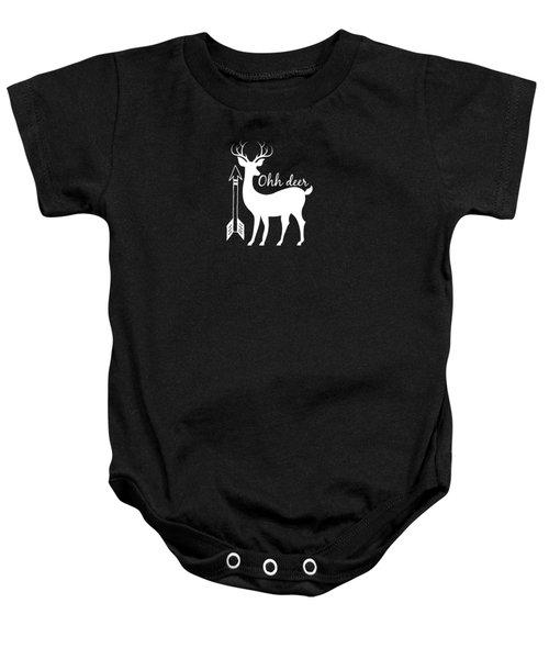 Ohh Deer Baby Onesie by Chastity Hoff