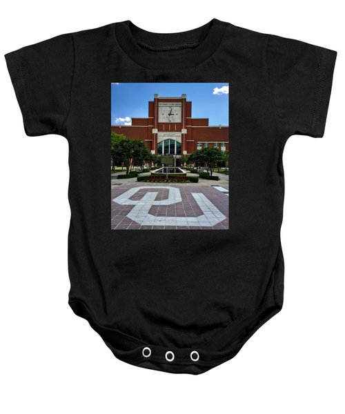 Oklahoma Memorial Stadium Baby Onesie by Center For Teaching Excellence