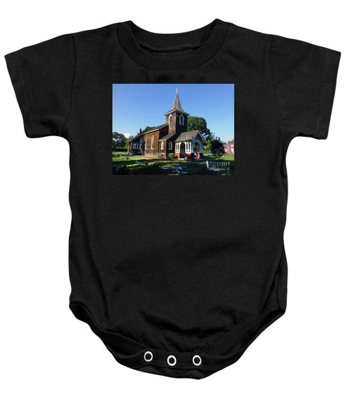 Old Grace Church Massapequa  Baby Onesie