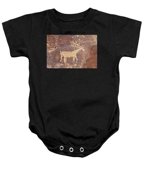 Petroglyph - Fremont Indian Baby Onesie