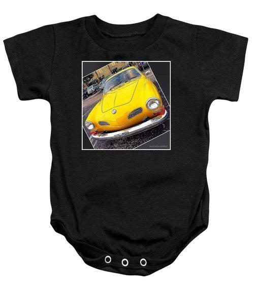 Photoshopping The #yellow #karminnghia Baby Onesie by Austin Tuxedo Cat