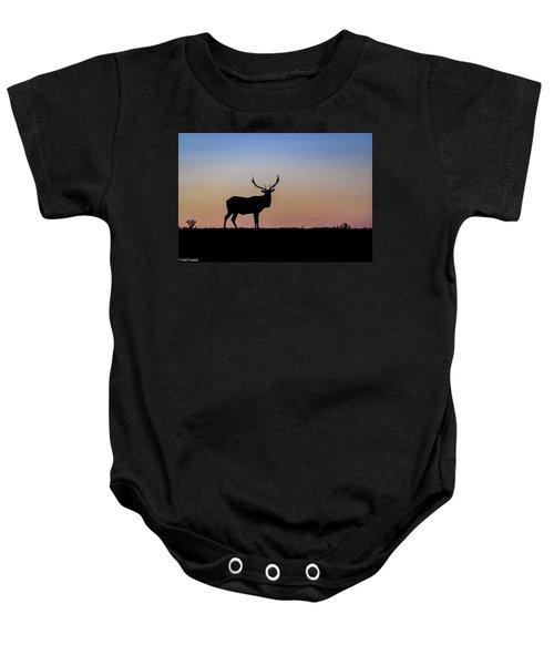 Point Reyes Elk Baby Onesie
