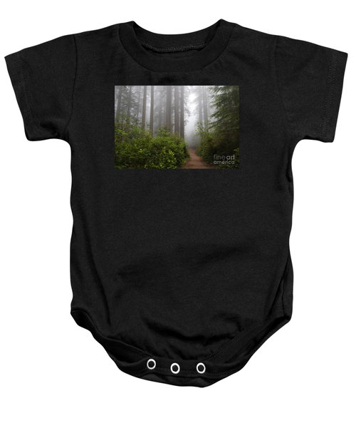 Baby Onesie featuring the photograph Redwood Grove by Vincent Bonafede