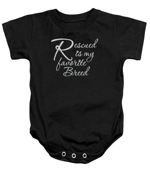 Rescued Baby Onesie