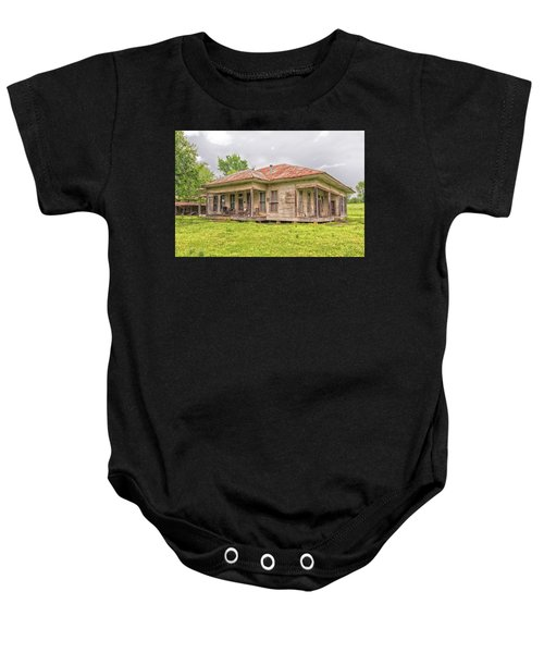 Arkansas Roadside House Baby Onesie
