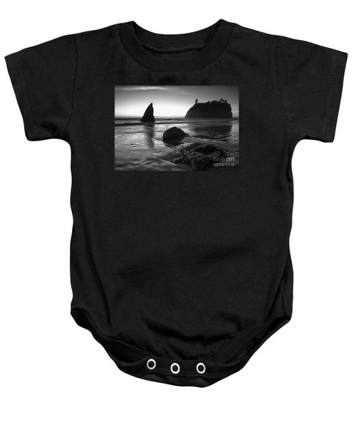 Ruby Beach  Baby Onesie