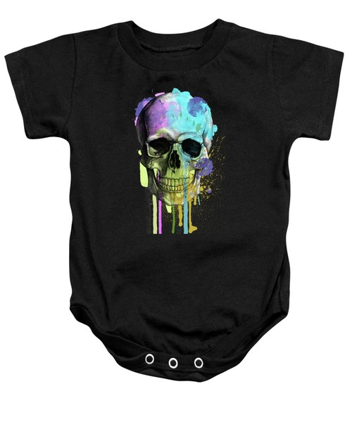 Halloween Baby Onesie by Mark Ashkenazi