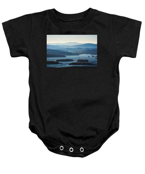 Squam Lake Baby Onesie