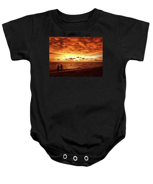 Sunset Before The Storm Baby Onesie
