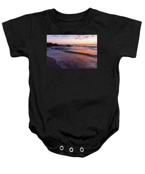 Sunset Over Laguna Beach   Baby Onesie