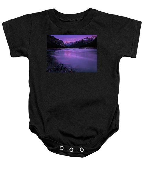 Sunwapta River Baby Onesie
