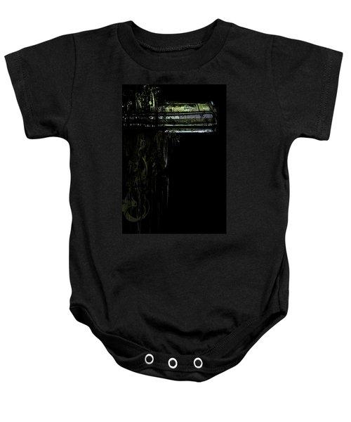 T Shirt Deconstruct Green Dodge Bumper Baby Onesie