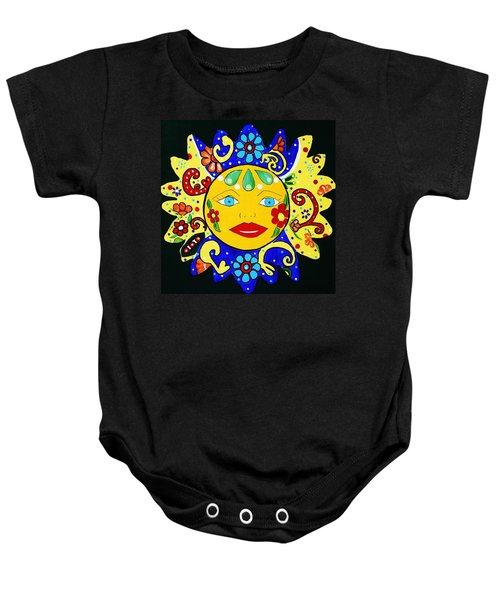 Talavera Sun Baby Onesie