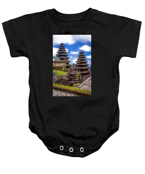 Temple City Baby Onesie