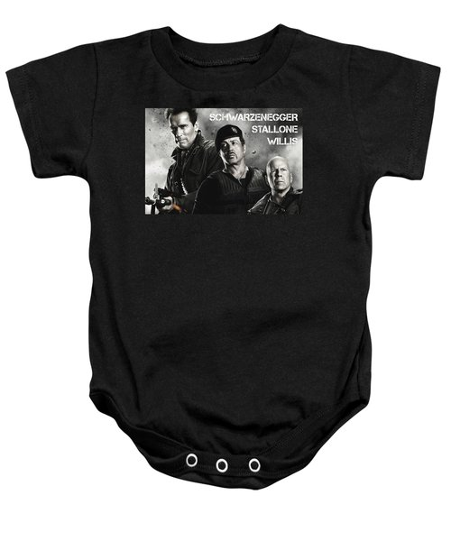 The Expendables 2 Baby Onesie