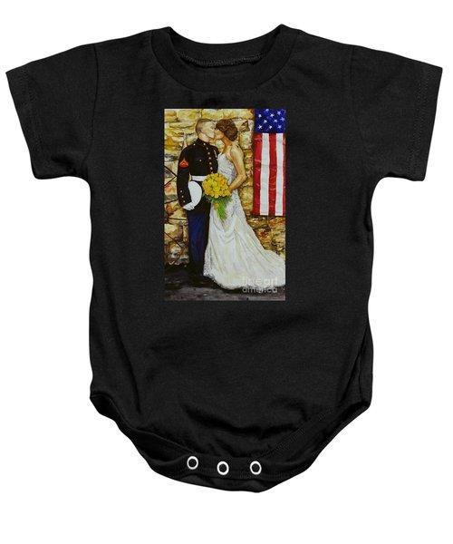 The Wedding Baby Onesie