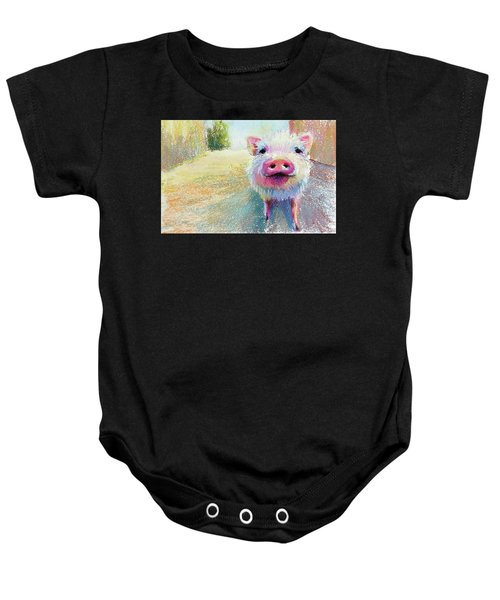 This Little Piggy Baby Onesie