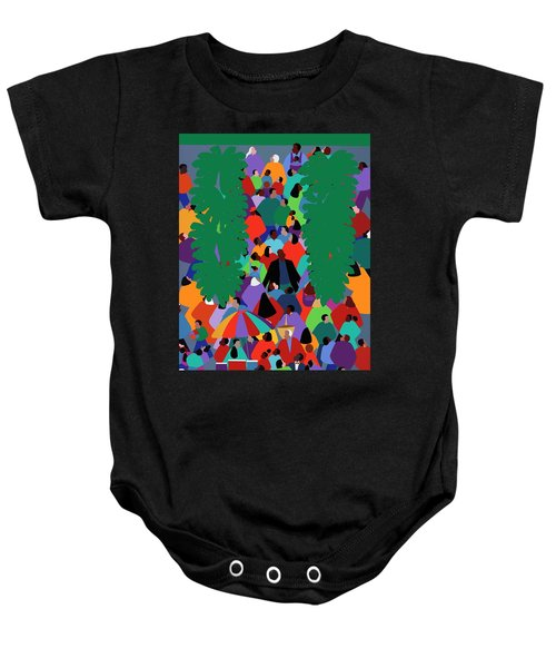 We The People Two Baby Onesie