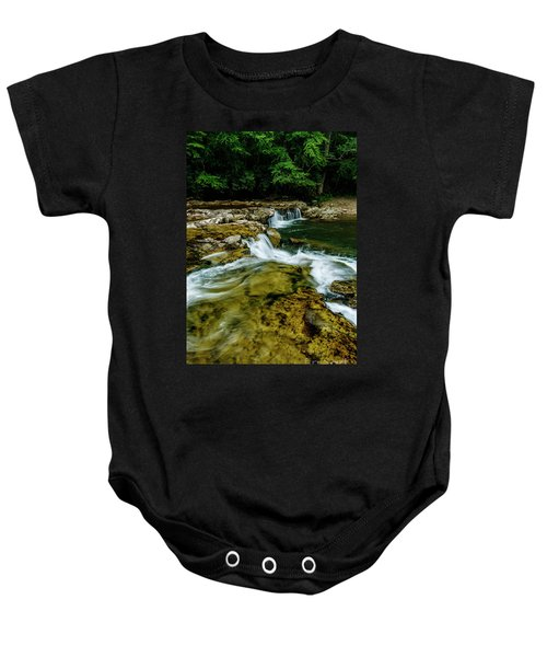 Whitaker Falls In Summer Baby Onesie