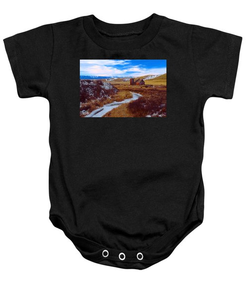 Willow Creek Barn Baby Onesie