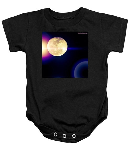 Wouldn't It Be Great If The #moon And Baby Onesie
