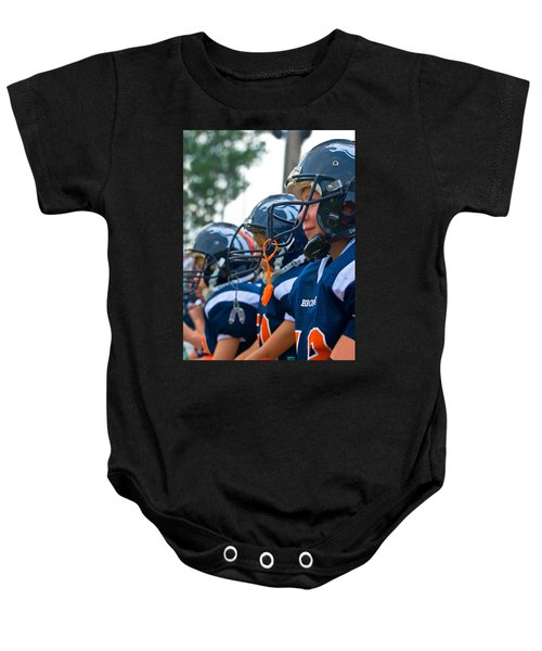Youth Football Baby Onesie