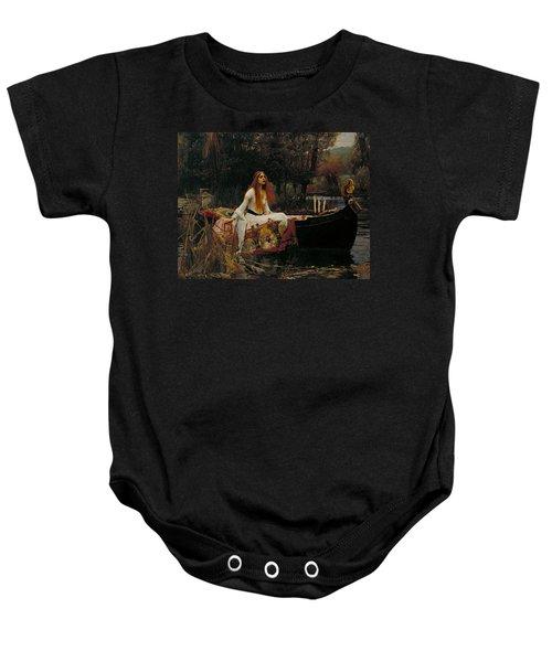 The Lady Of Shalott Baby Onesie