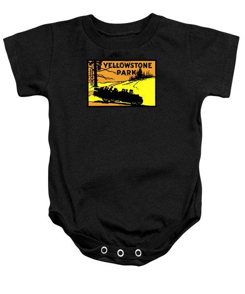 1920 Yellowstone Park Baby Onesie