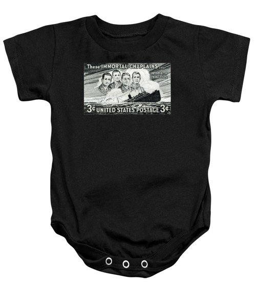 1948 Immortal Chaplains Stamp Baby Onesie