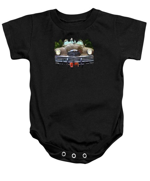 1948 Packard Super 8 Touring Sedan Baby Onesie