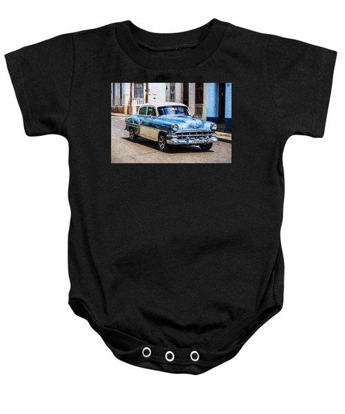 1954 Chevy Cuba Baby Onesie