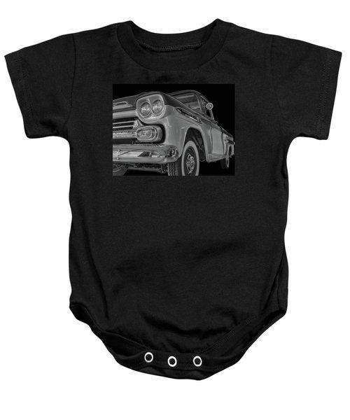 1959 Chevrolet Apache - Bw Baby Onesie